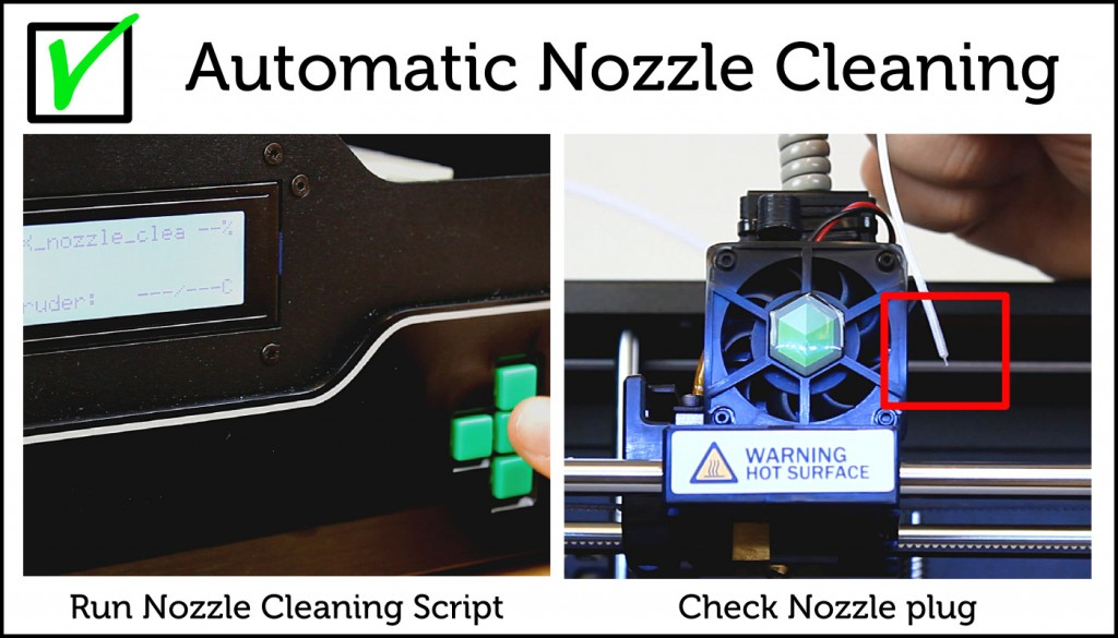 Automatic Nozzle Cleaning