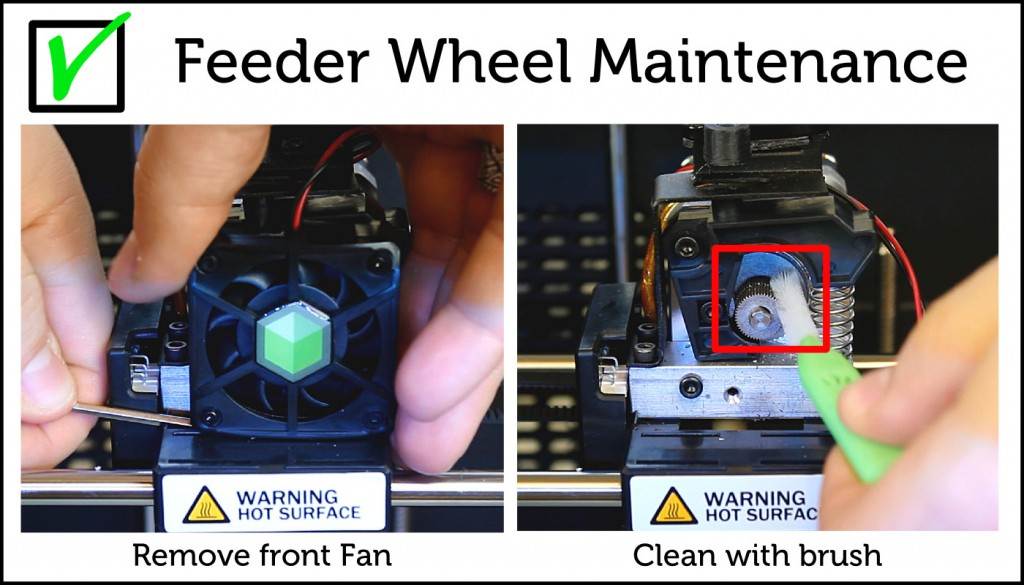 Feeder Wheel Maintenance