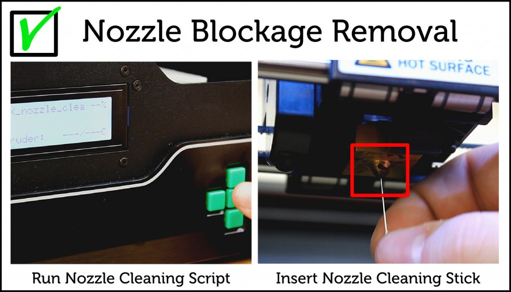 Nozzle Blockage Removal