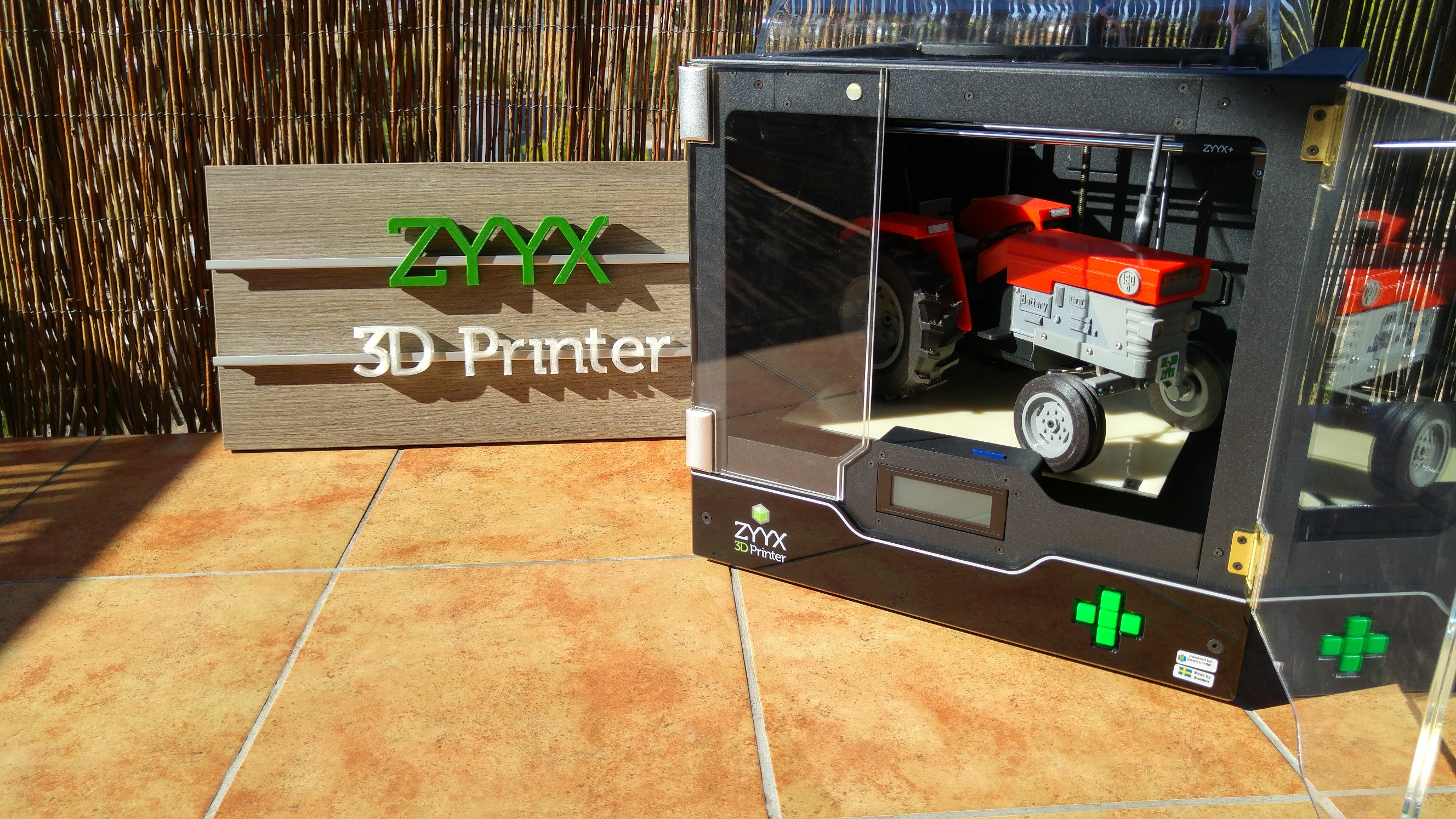 Makitpro and the OpenRC tractor - ZYYX 3D Printer